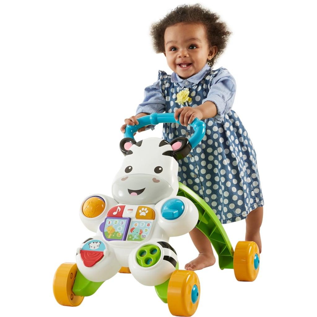 Fisher-Price® Lauflernhilfe »Lern mit mir Zebra Lauflernwagen«