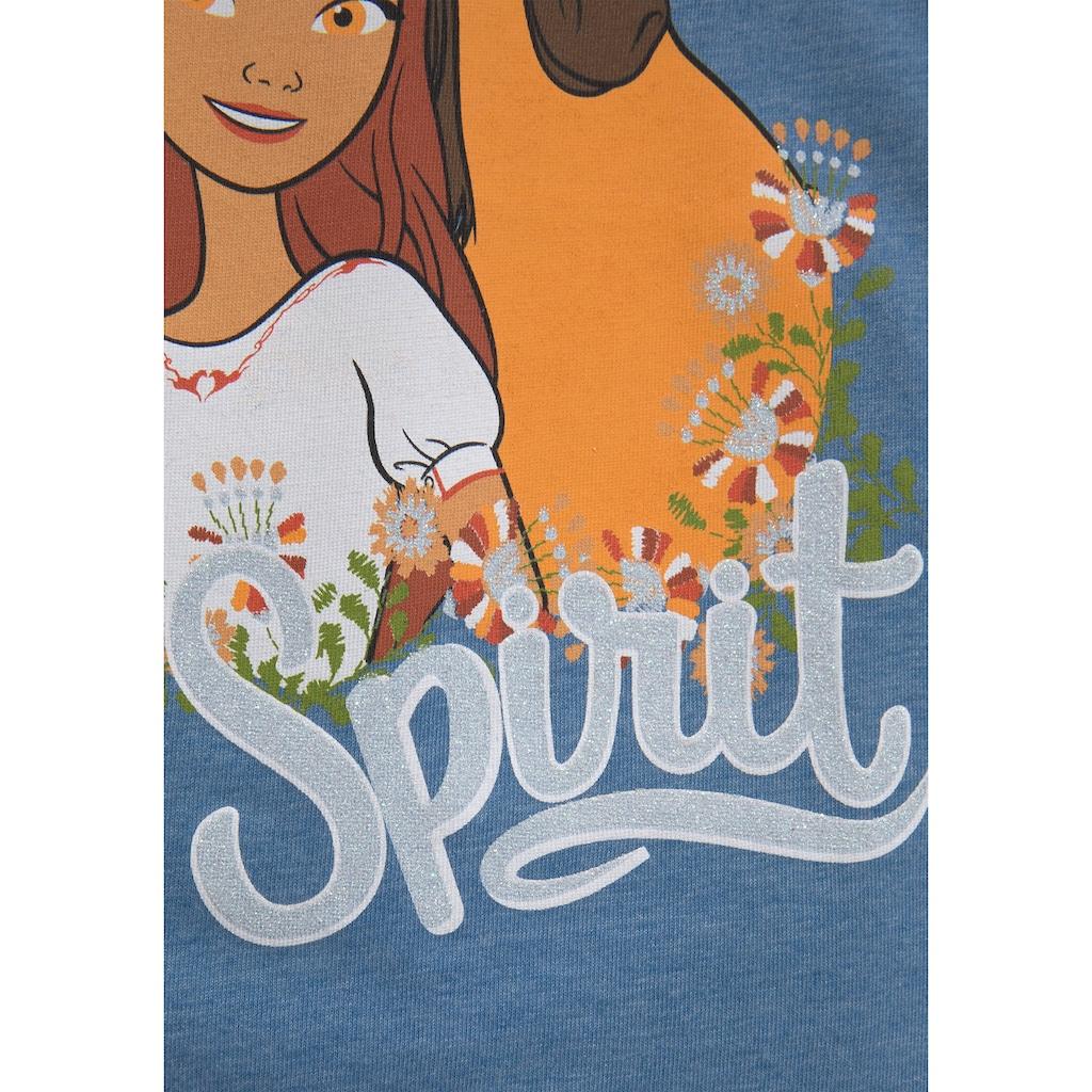 DREAMWORKS Spirit RIDING FREE Langarmshirt »LOVE SPIRIT«