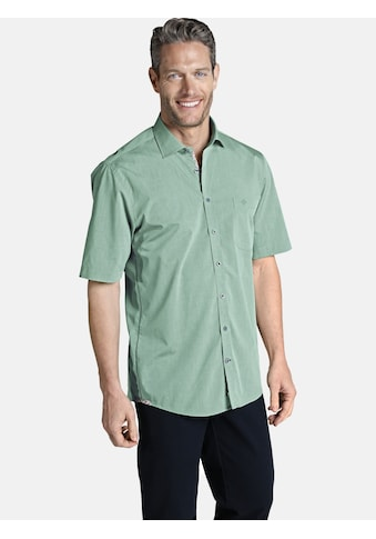 Charles Colby Kurzarmhemd »LACHLAN«, mit floralen Kontrastdetails kaufen