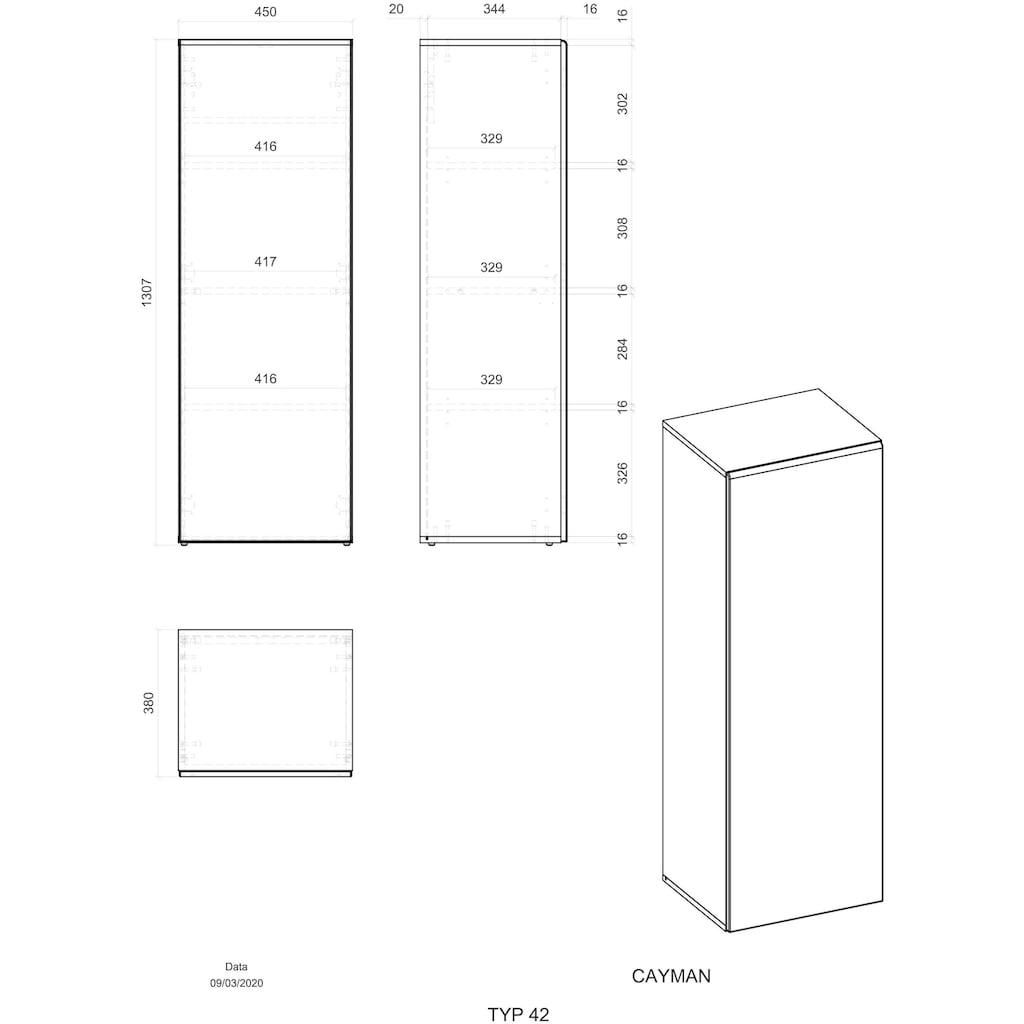 Places of Style Stauraumschrank »CAYMAN«, Im modernen Design
