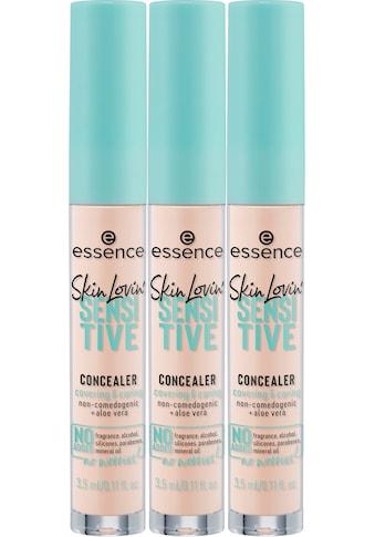 Essence Concealer »Skin Lovin' SENSITIVE CONCEALER«, (Set, 3 tlg.) kaufen