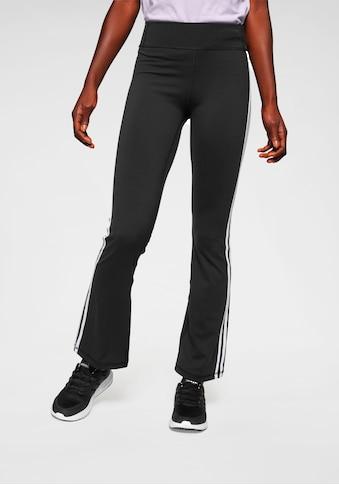 adidas Performance Jazzpants »BRUSHED 3 STRIPES BOOTCUT« kaufen