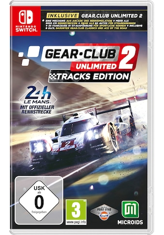 Astragon Spiel »Gear Club Unlimited 2: Tracks Edition«, Nintendo Switch kaufen