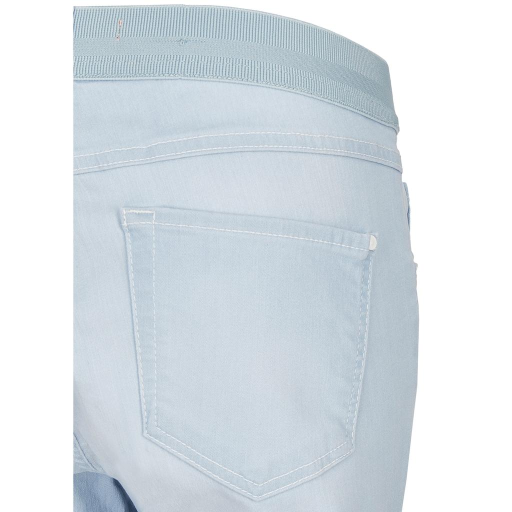 ANGELS Caprijeans,One Size Fits All' mit elastischem Bund