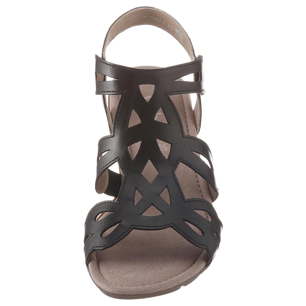 Gabor Sandalette, mit zweckmäßigem Klettverschluss