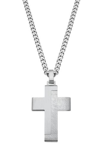 s.Oliver Kette mit Anhänger »Kreuz, 2024253« kaufen