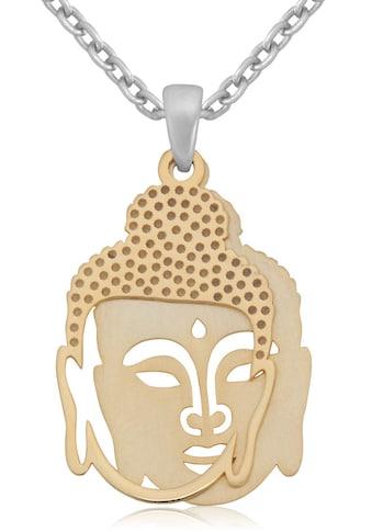 Firetti Kette mit Anhänger »Budda, teilweise vergoldet, glänzend/mattiert«, Made in... kaufen