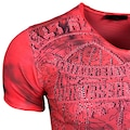 Rusty Neal T-Shirt mit auffälligem Print