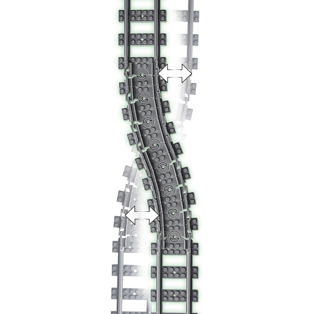 LEGO® Konstruktionsspielsteine »Schienen (60205), LEGO® City«, (20 St.), Made in Europe