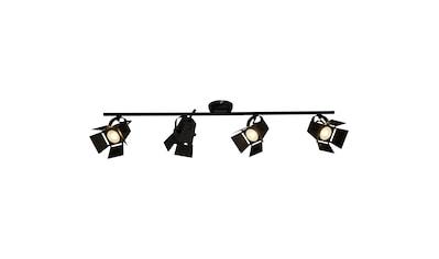 Brilliant Leuchten Movie LED Spotrohr 4flg schwarz matt kaufen
