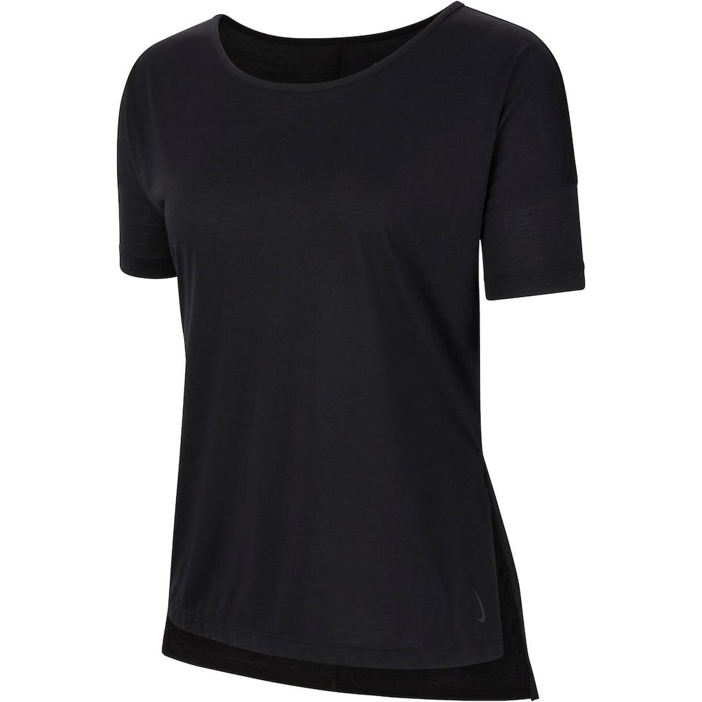 Nike Yogashirt »YOGA WOMENS SHORT-SLEEVE TOP«