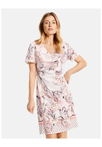 GERRY WEBER Kleid Gewebe »Kleid mit Alloverdessin« kaufen