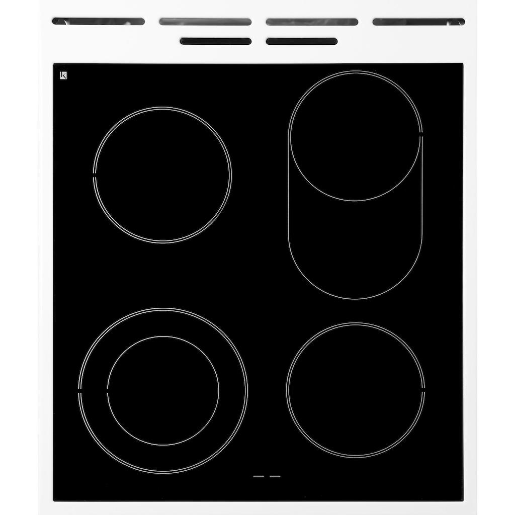 GORENJE Elektro-Standherd »EC 539«, EC539KWOT, mit 1-fach-Teleskopauszug