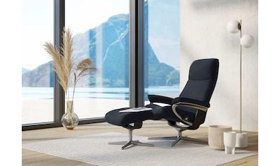 Stressless® Relaxsessel »View«, mit Cross Base, Größe S, M & L, Gestell Schwarz kaufen