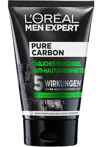 L'ORÉAL PARIS MEN EXPERT Gesichtsreinigungsgel »Pure Charcoal«, beseitigt Pickel,... kaufen