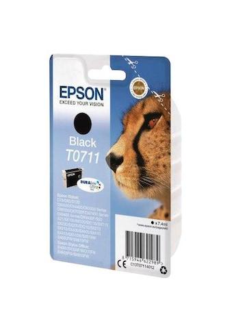 Epson Tintenpatrone »T0711 Original Schwarz C13T07114012« kaufen
