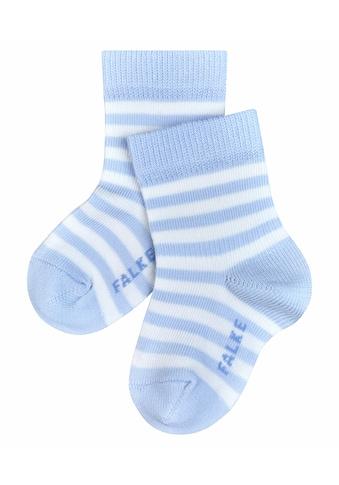 FALKE Socken »Stripe«, (1 Paar), aus kuschelweicher Baumwolle kaufen