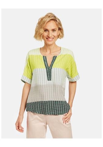 GERRY WEBER Klassische Bluse »Blusenshirt mit Blockstreifen« kaufen