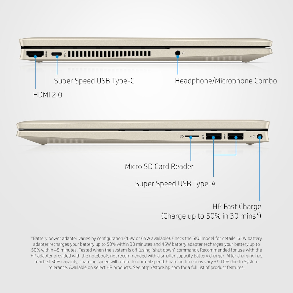 "HP Convertible Notebook »Pavilion x360 14-dy0204ng«, (35,6 cm/14 "" Intel Core i7 Iris© Xe Graphics\r\n 512 GB SSD), Kostenloses Upgrade auf Windows 11, sobald verfügbar"