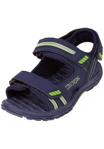 Kappa Sandale »SYMI KIDS«, mit drei praktischen Klettverschlüssen für einen optimalen... kaufen