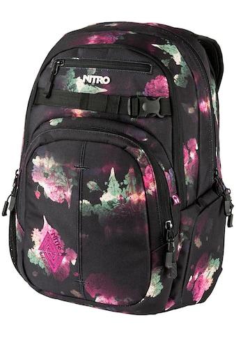 NITRO Schulrucksack »Chase Black Rose« kaufen
