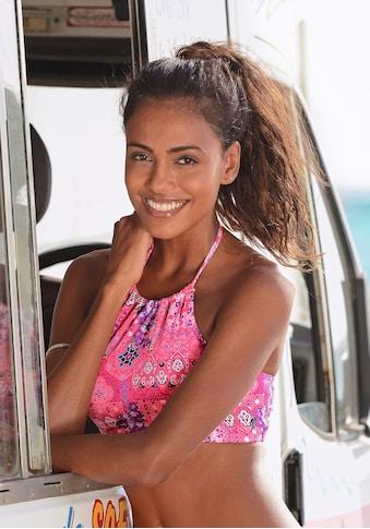 Buffalo Bustier-Bikini-Top »Shari«, mit trendigem Alloverdruck kaufen