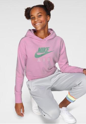 Nike Sportswear Kapuzensweatshirt »GIRLS AIR CROP HOODIE« kaufen