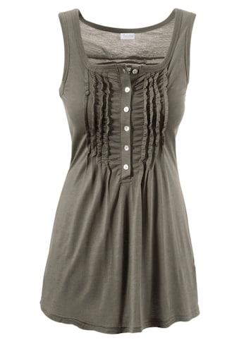 Aniston CASUAL Longtop, in uni oder Millefleurs kaufen