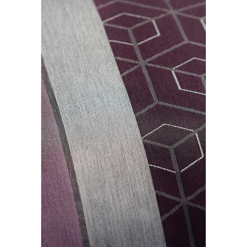 Joop! Kissenhülle »Metric«, (1 St.), mit geometrischem Muster und Logo
