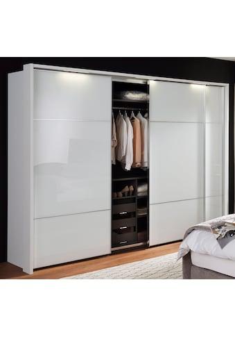 nolte® Möbel Schwebetürenschrank »Marcato 2.3«, mit Fronten aus Weißglas, Breite 300 cm kaufen