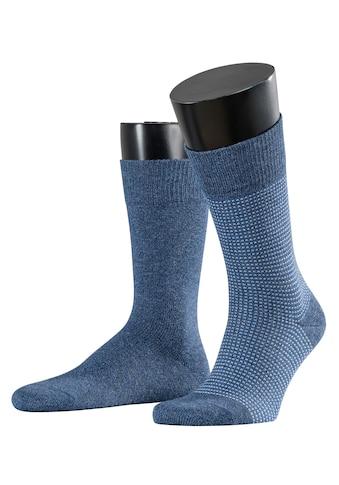 Esprit Socken »Contrasty Piqué 2-Pack«, (2 Paar), mit Multicolour-Garn kaufen