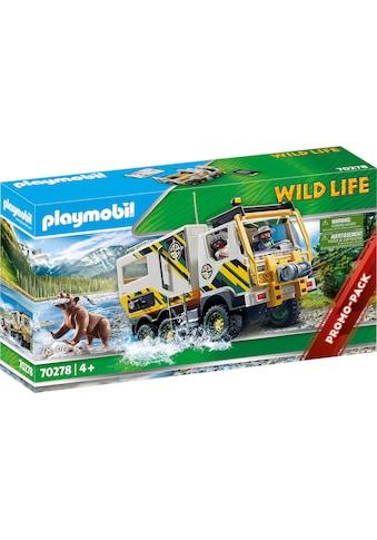 "Playmobil® Konstruktions - Spielset ""Expeditionstruck (70278), Wild Life"", Kunststoff kaufen"