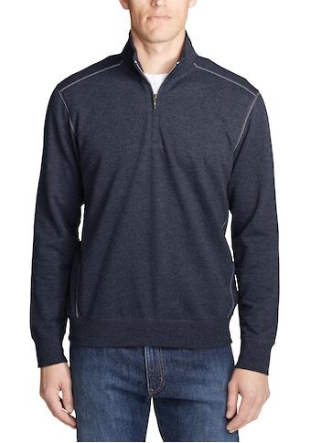 Eddie Bauer Sweatshirt, Camp Fleece mit 1/4-Reissverschluss kaufen