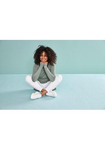 Laura Scott Rundhalspullover, mit Zierknöpfen - NEUE KOLLEKTION kaufen