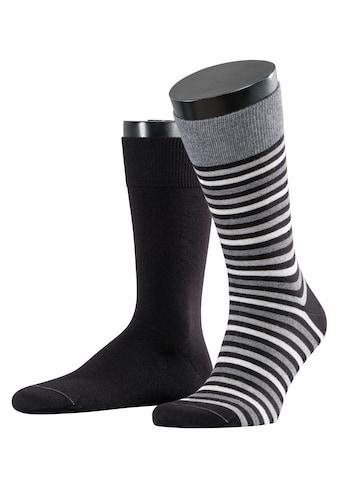 Esprit Socken »Multistripe 2-Pack«, (2 Paar), mit feinen Streifenmuster kaufen