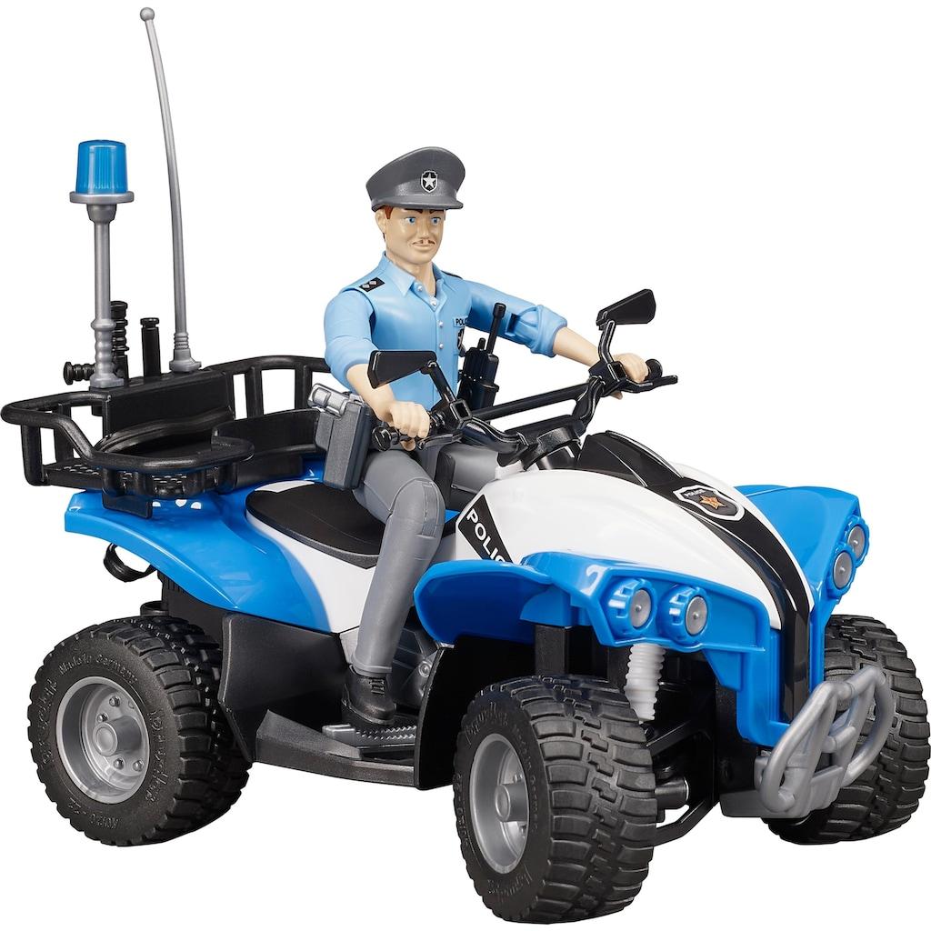 Bruder® Spielzeug-Quad »bworld Polizei-Quad«, Made in Germany