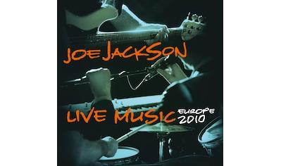 Vinyl »Live Music-Europe 2010 (Ltd.Orange 2LP) / Jackson,Joe« kaufen