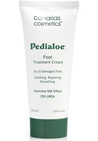 canarias cosmetics Fußcreme »Pedialoe«, mit 25 % Urea kaufen