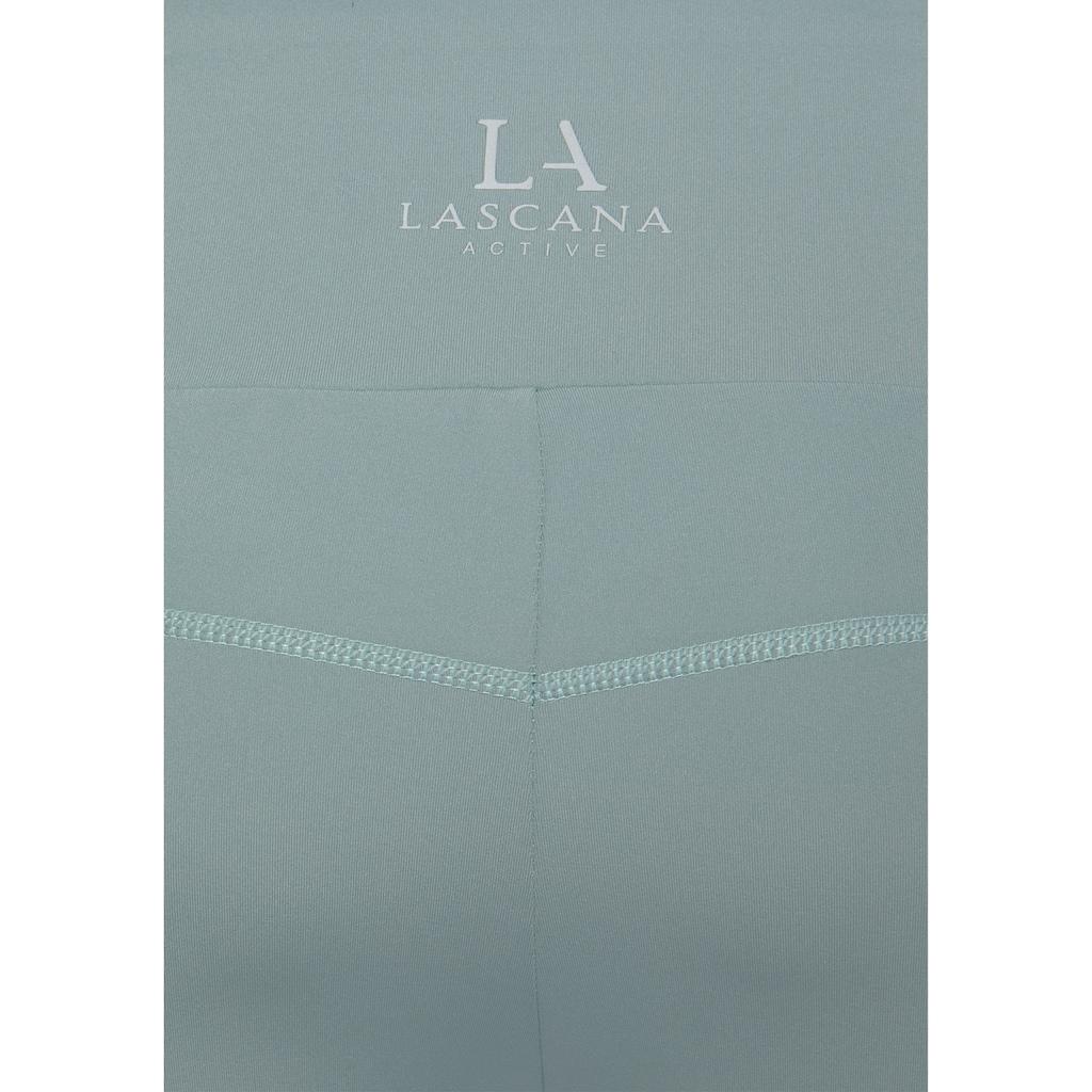 LASCANA ACTIVE Leggings, mit Logotape an den Beinen
