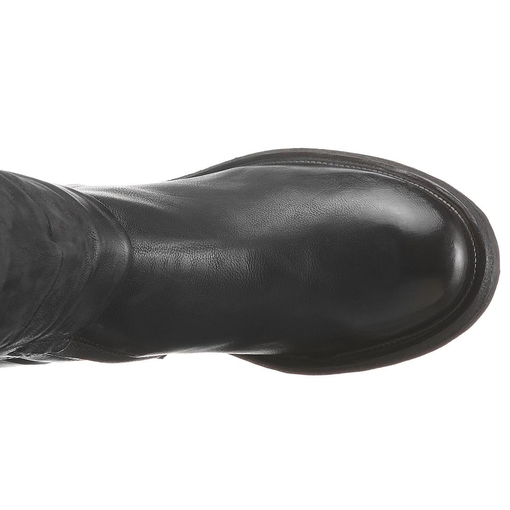 A.S.98 Overkneestiefel »IGNIX«, mit Schmuckelementen hinten