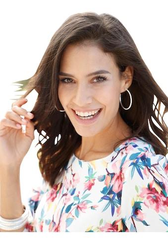 Alessa W. Bluse im brillanten digitalen Blüten - Dessin kaufen
