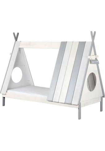 Lüttenhütt Hausbett »Drollig«, Kinderbett in skandinavischem Look kaufen
