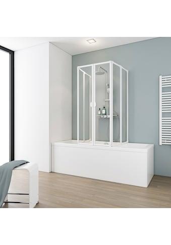 Schulte Badewannenaufsatz, flexibel einsetzbar, nach Gebrauch flach an die Wand klappbar kaufen