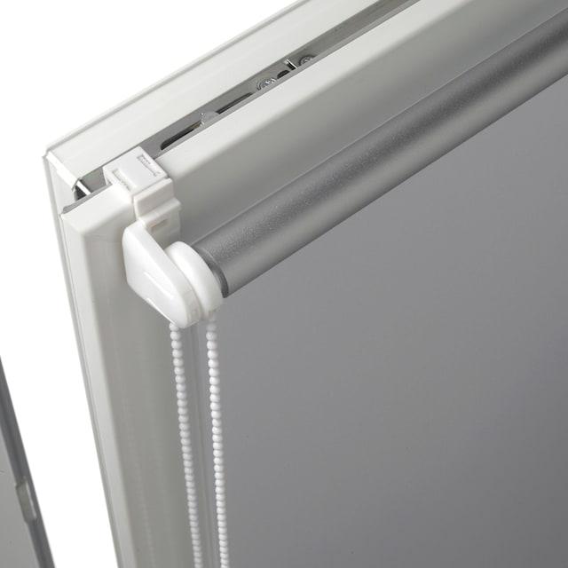 Seitenzugrollo »Thermo Klemmrollo Energiesparend«, , verdunkelnd, ohne Bohren, freihängend