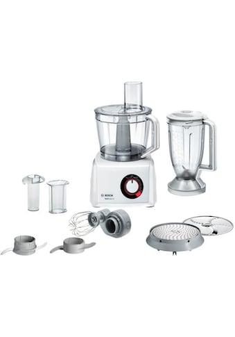BOSCH Kompakt-Küchenmaschine »MultiTalent 8 MC812W501«, 1000 W, 3,9 l Schüssel kaufen