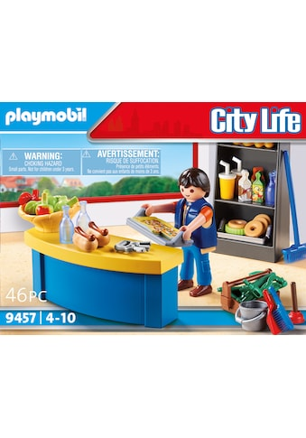 Playmobil® Konstruktions-Spielset »Hausmeister mit Kiosk (9457), City Life«, (46 St.),... kaufen