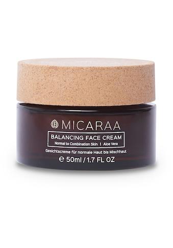 MICARAA NATURAL COSMETICS Gesichtspflege »für normale bis Mischhaut«, mit Aloe Vera Gel vegan kaufen