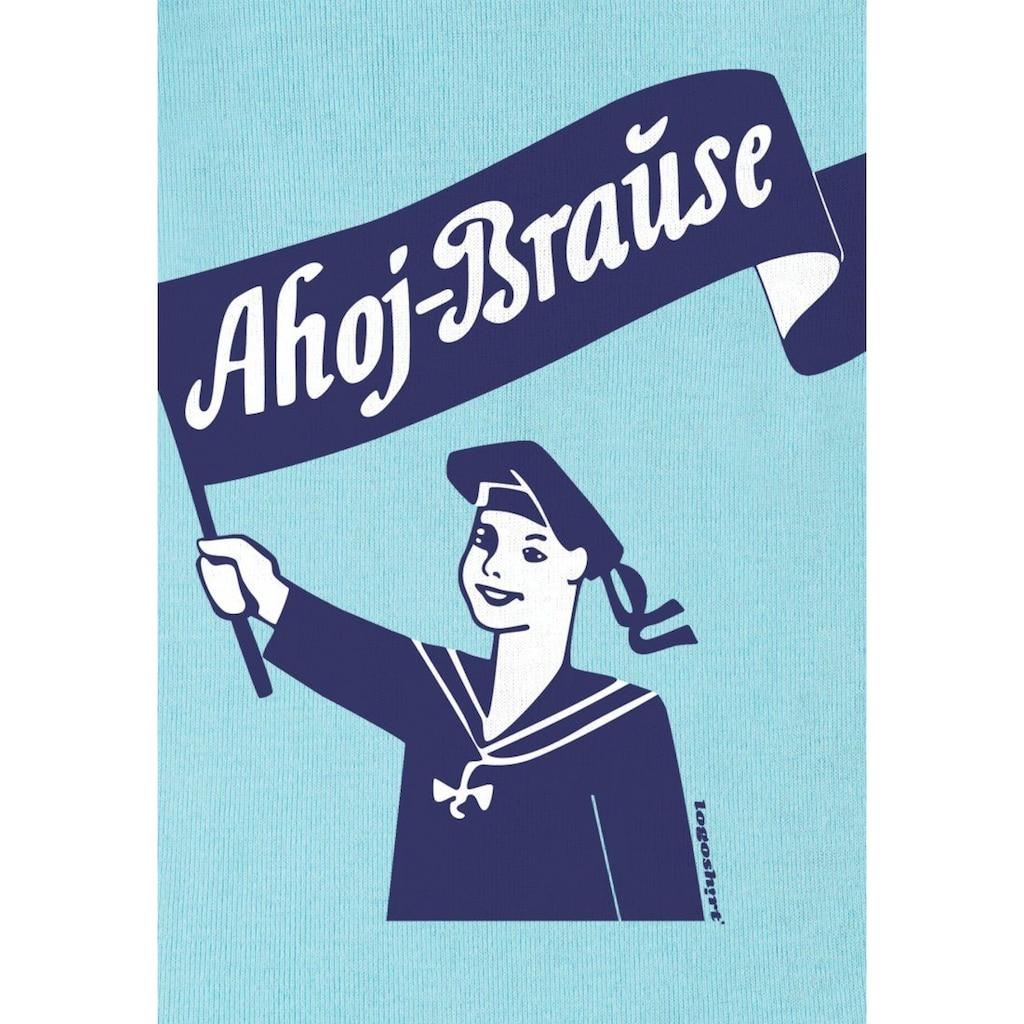 LOGOSHIRT Body mit Ahoj Brause-Frontdruck