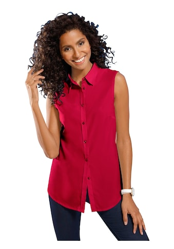 Classic Basics Bluse ohne Arm mit leicht abgerundetem Saum kaufen
