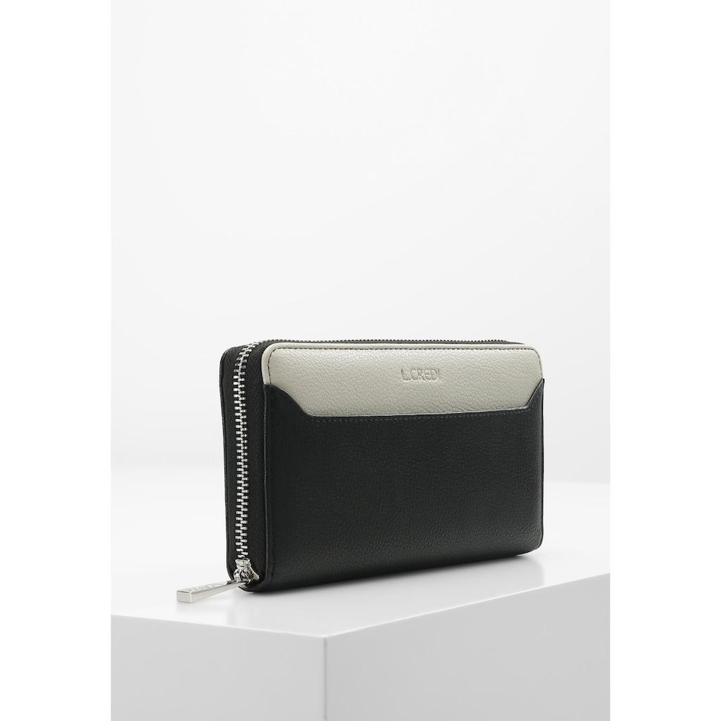L. CREDI Brieftasche »Farah Geldbörse«